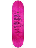 Deathwish -  Ellington The Dancer Skateboard Deck 8.125