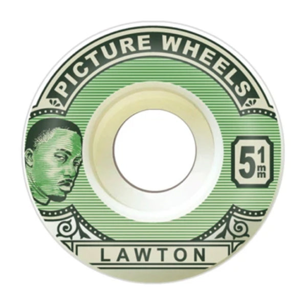 "Picture Wheels - PSU Alex Lawton ""Stamp Duty"" 83B Conical 54mm Wheels"