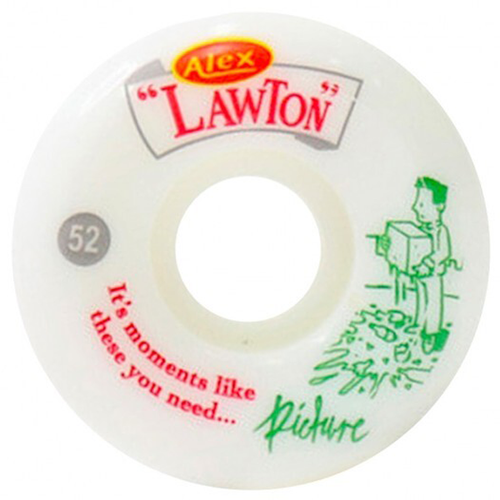 "Picture Wheels - Pro Alex Lawton ""Moments"" 83B Conical 53mm Wheels"