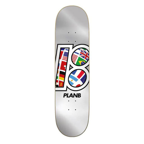 "Plan B - Team global 8.5"" Deck"