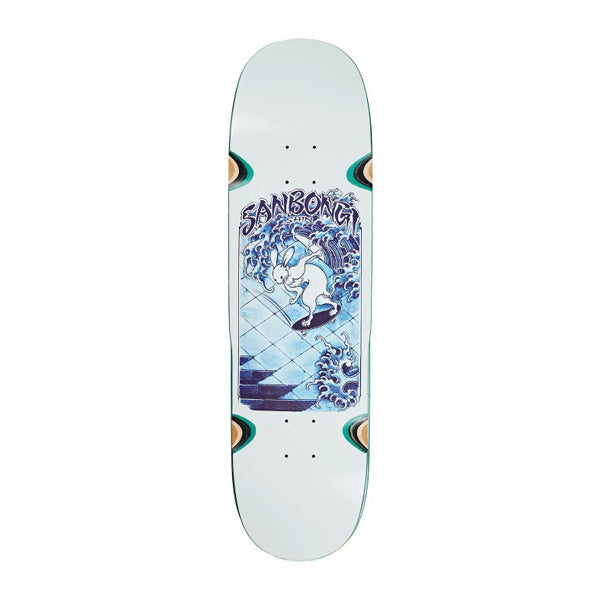 "Polar Skate Co - Shin Sanbongi Skate Rabbit 8.75"" Deck Wheel Wells"