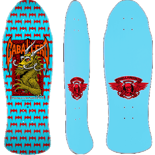 Powell Peralta - Cabalero Street Dragon Blue Deck