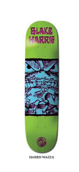 Premium Skateboards - Blake Harris Wazza 8.25