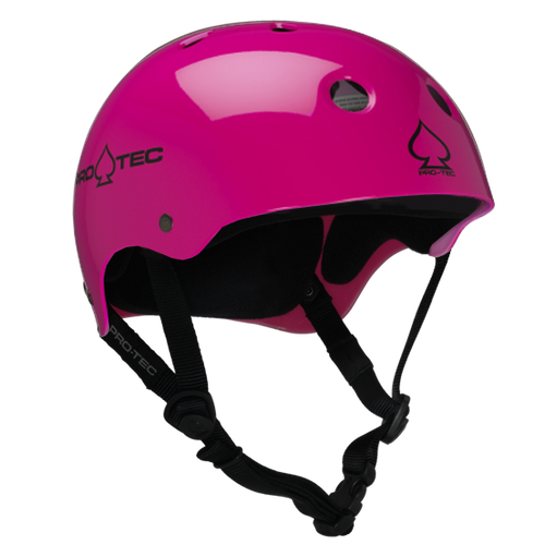 Protec - Classic Skate 16 Helmet Pink Small