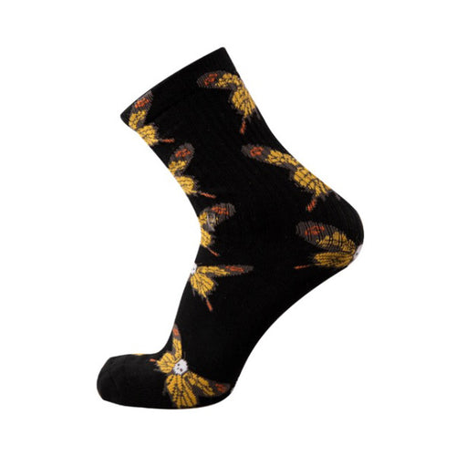 Psockadelic - Death Fly Socks OFSA Black