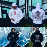 Red Dawn - Code Of Arms Hoodie White