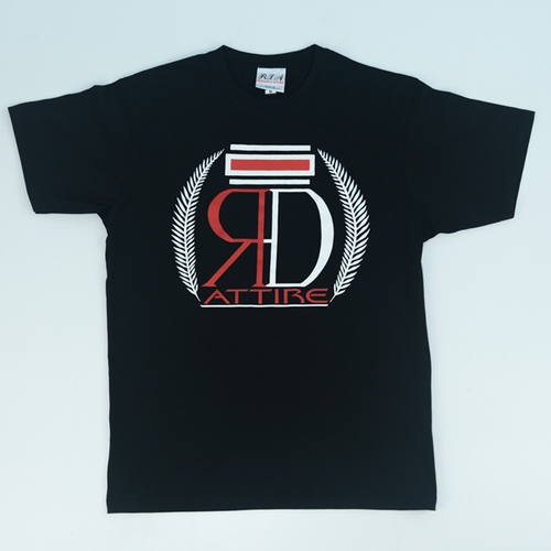 Red Dawn - Crest Tee Black