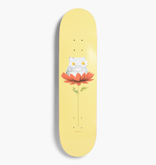 "RIPNDIP - Daisy Do Board Skateboard Deck 8.0"" Yellow"