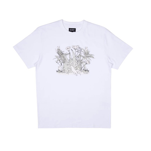 RIPNDIP - Nerm Paradise Tee UV Activated Ink White