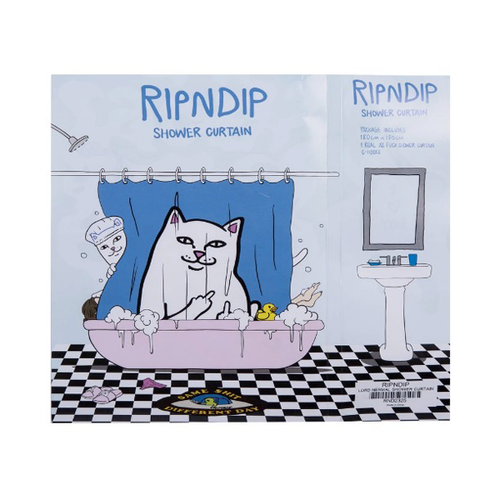 RIPNDIP - Lord Nermal Shower Curtain