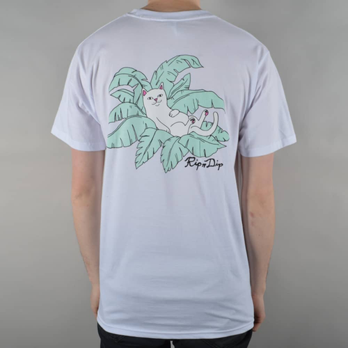 RIPNDIP - Nermal Leaf Pocket T-Shirt