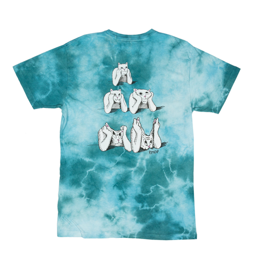 RIPNDIP - Stoner Tee Green Acid Wash