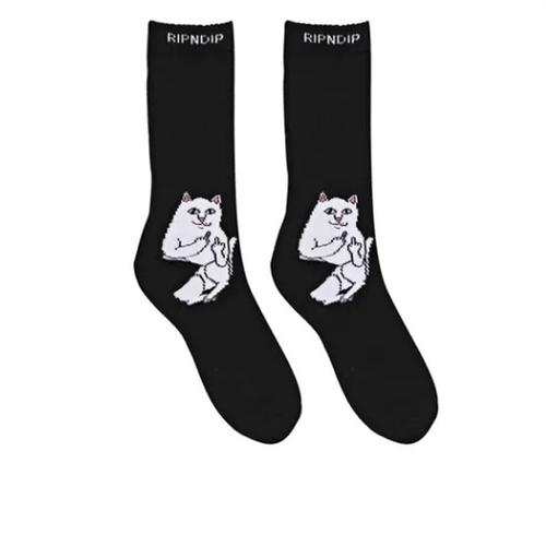 RIPNDIP - Lord Nermal Socks OSFA Black