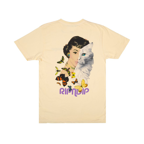 RIPNDIP - Mask Tee Banana Yellow