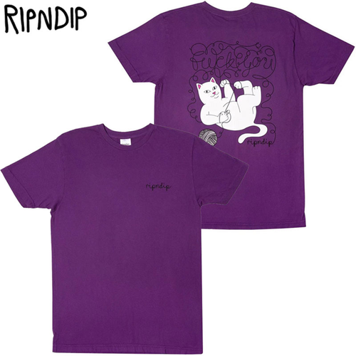 RIPNDIP - Tangled Tee (Purple)