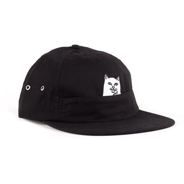 RIPNDIP - Nermal Pocket (Black) 6 Panel