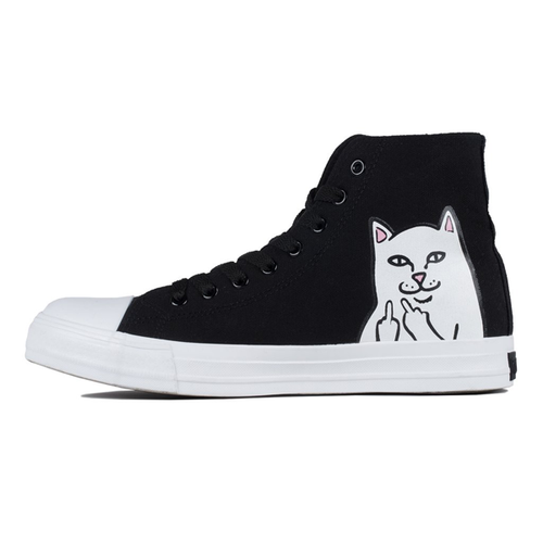 RIPNDIP - Nerm High-Top Black Shoes