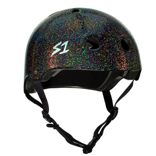 S-One - S1 Lifer Series Helmet Black Gloss Glitter