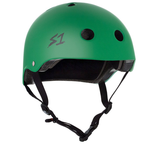 S-One - S1 Lifer Series Helmet Kelly Green Matte