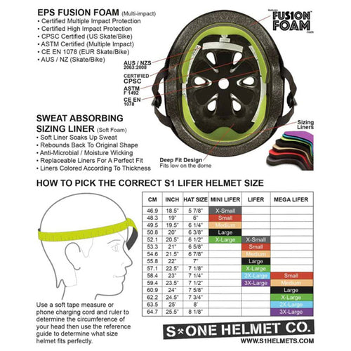 S-One - S1 Mega Lifer Helmet Black Matte