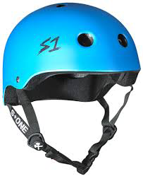 S-One - S1 Lifer Series Helmet Cyan Matte