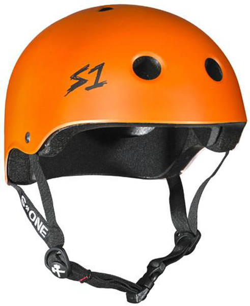 S-One - S1 Lifer Series Helmet Orange Matte