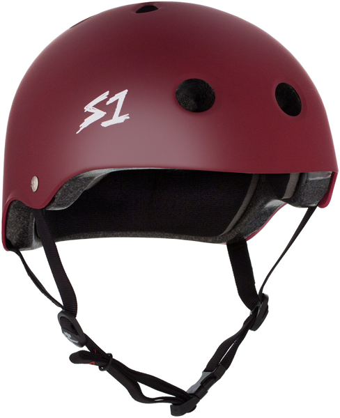 S-One - S1 Lifer Series Helmet Maroon Matte