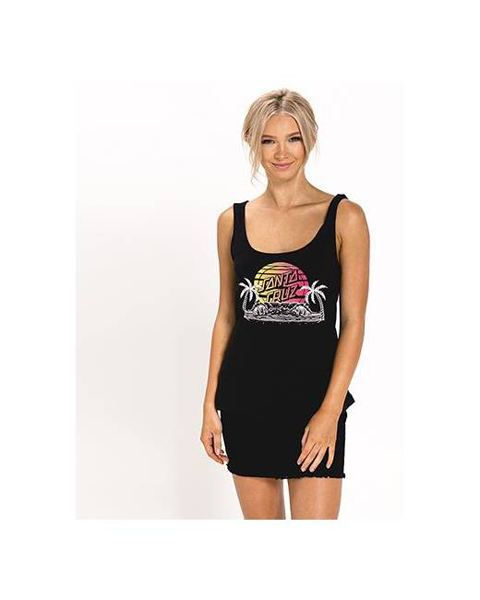 Santa Cruz - A Frame 2 Tank Top Black