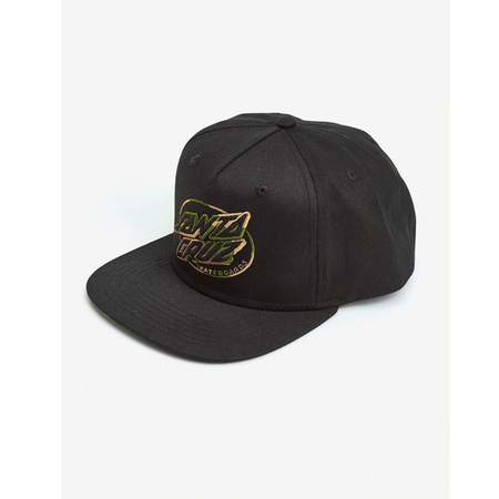 Spitfire - Adjustable Big Head Snap Black/Red Cap