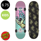 Santa Cruz - Pastel Screaming Hand Sk8 Complete Skateboard 6.75