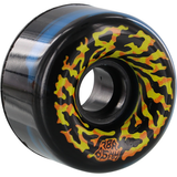 Santa Cruz - Swirly Black Blue 65mm 78A Wheels