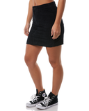 Santa Cruz - Cassie Corduroy Skirt Black