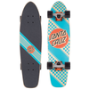 Santa Cruz - Check Stripe Jammer Blue Cruzer