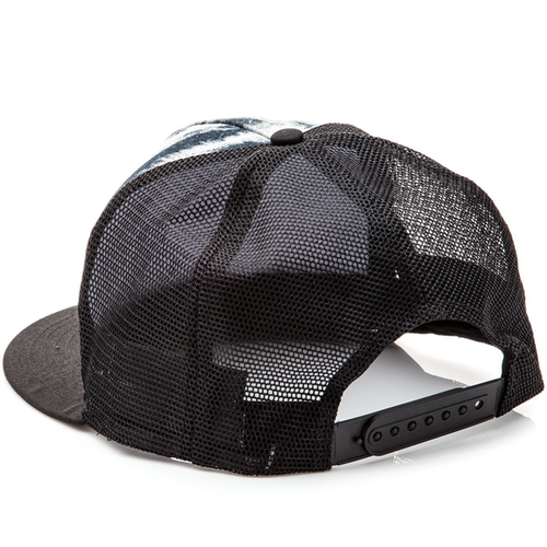 Santa Cruz - Classic Dot Youth Trucker Hat Black/Black