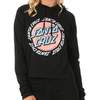 Santa Cruz - Ringed Dot Long Sleeve Hooded Tee