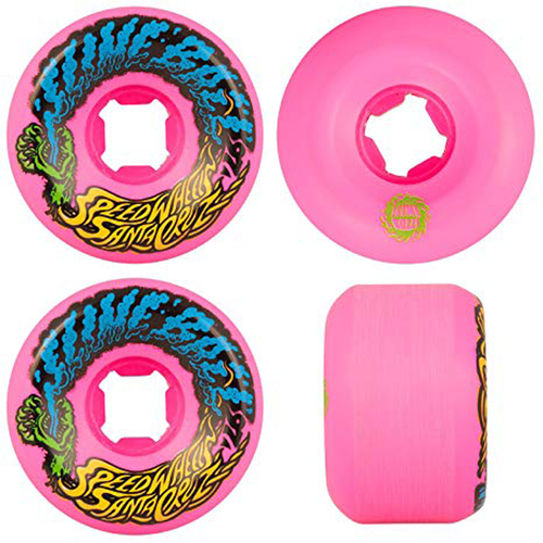 Santa Cruz - Slime Balls Vomit Mini Neon Pink 54mm 97a