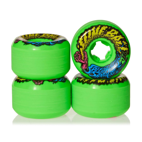 Santa Cruz - Slime Balls Vomit Mini Neon Green 54mm 97a
