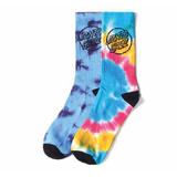 Santa Cruz - Dye Dot Socks 2 pack OSFA (Assorted Colors)