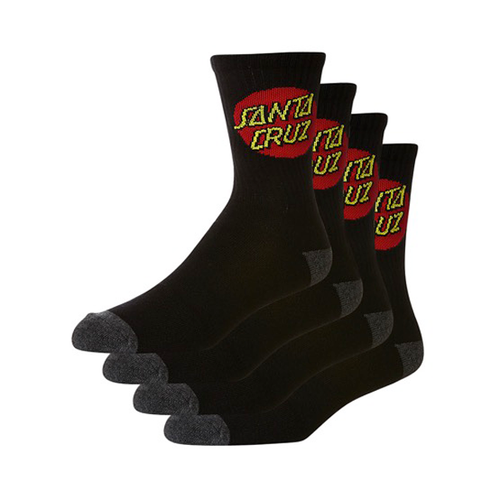 Santa cruz - Red Dot Socks 4 Pack OSFA
