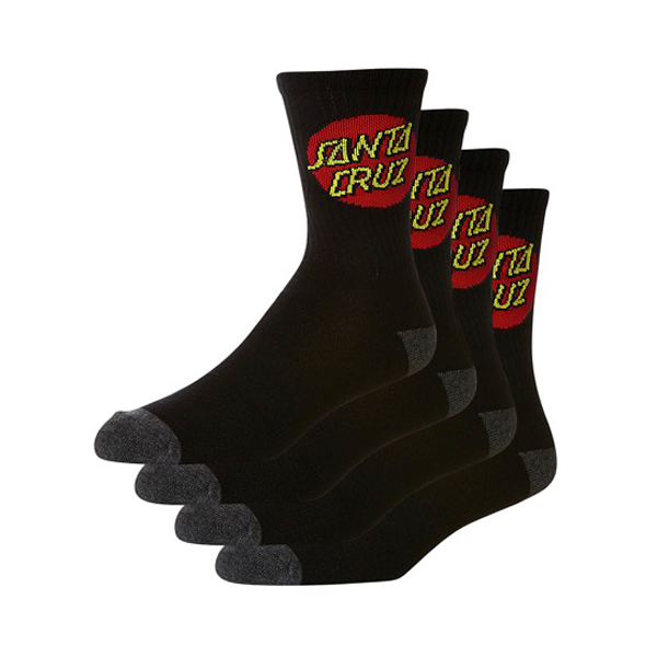 Santa cruz - Red Dot Youth Socks 4 Pack OSFA