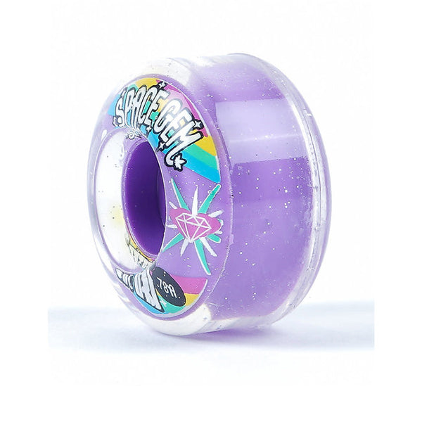 SATORI WHEELS - Space Gem 54mm CLEAR URETHANE 78a