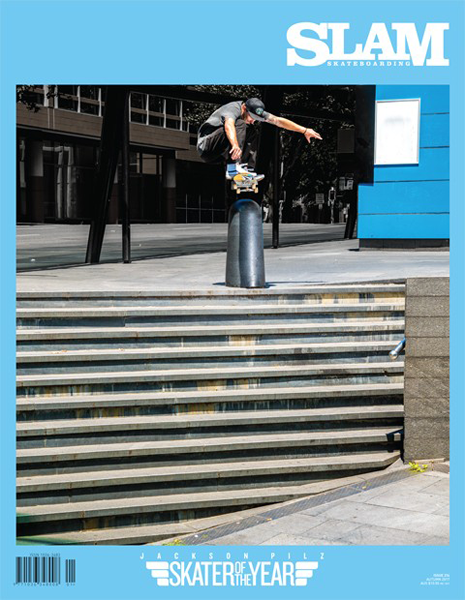 Slam Skateboarding Magazine - 214