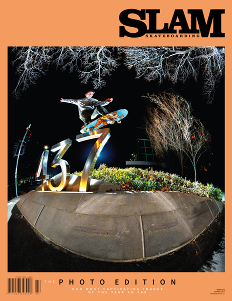 Slam Skateboarding Magazine - 216