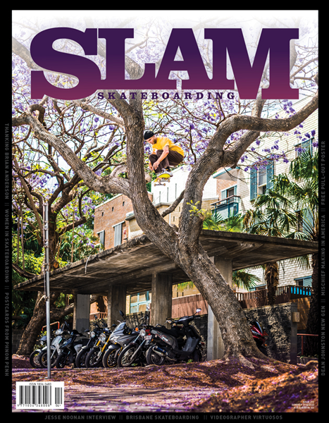 Slam Skateboarding Magazine - 213