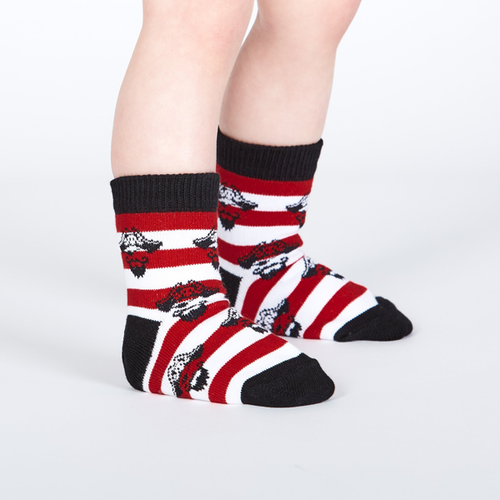 Sock It To Me - Argh Ye Stripey Toddler Crew Socks