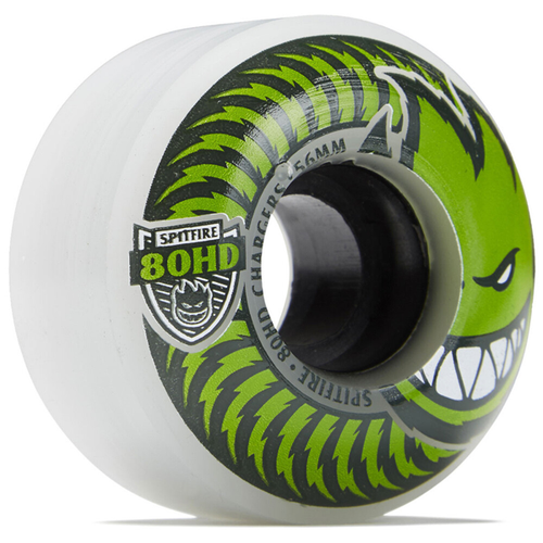 Spitfire - 80HD Chargers Classic Clear Green Wheels