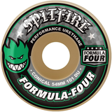Spitfire - Formula Four 101 Duro Conical Green Print