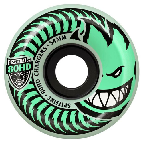 Spitfire - 80HD Chargers Stay Lit Glo In The Dark Wheels 56 mm