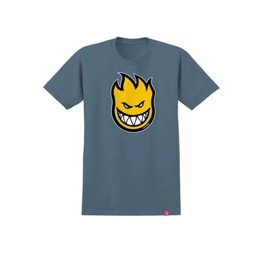 Spitfire - Bighead Fill Slate/Yellow Youth T-Shirt