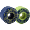 Spitfire - Formula Four Conical 99 Duro Navy/Lime Mash Wheels